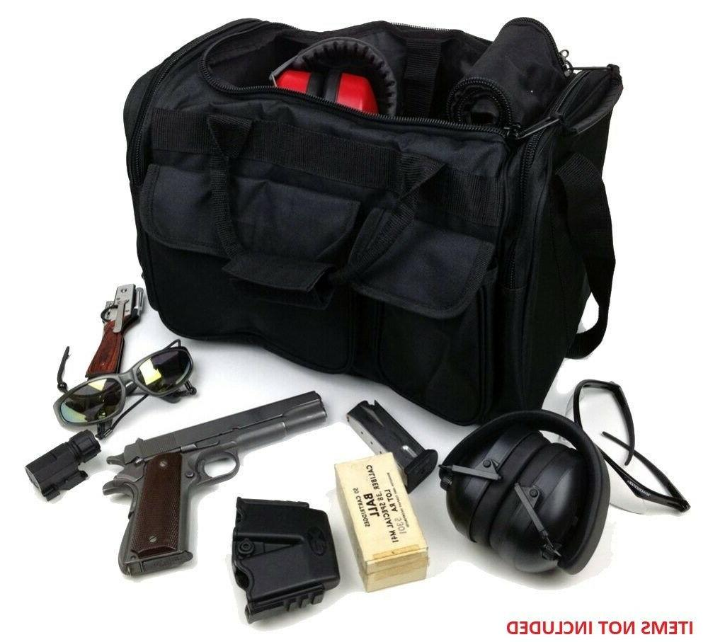 large deluxe shooters tactical range bag in