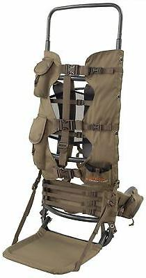 Large Hunting Backpack Frame Freight Best Camo Gear Pack Gam