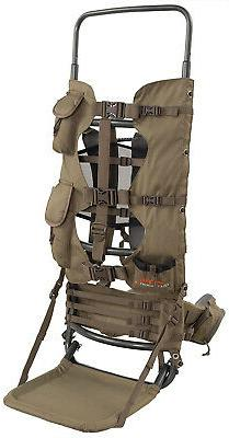 Large Hunting Backpack Frame Freight Best Hiking Gear Pack G