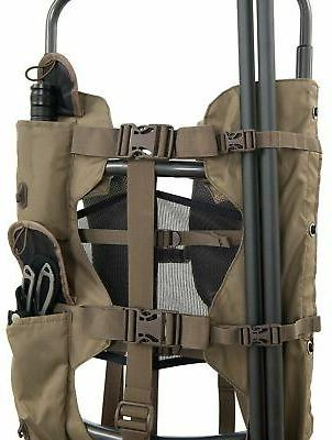 Large Hunting Backpack Freight Meat Pack Camo