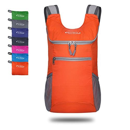 lightweight packable shoulder backpack hiking