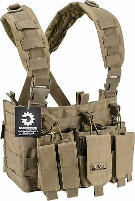 Loaded Gear Tactical Chest Rig VX-400 Tan  BI12792