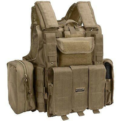 loaded gear vx 300 tactical vest dark