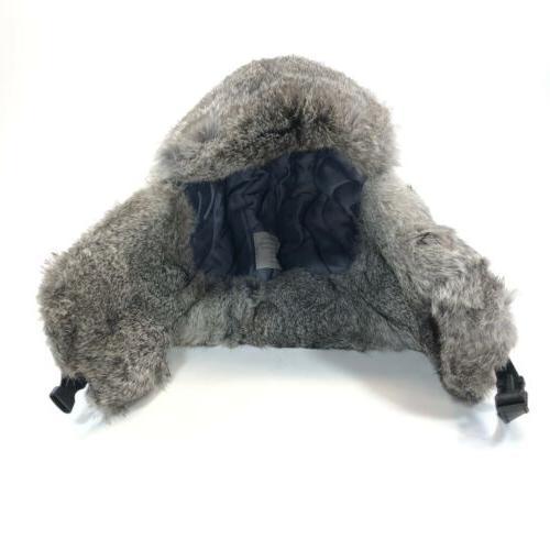 Guide Trapper Fur Buckle Bomber Ear Black