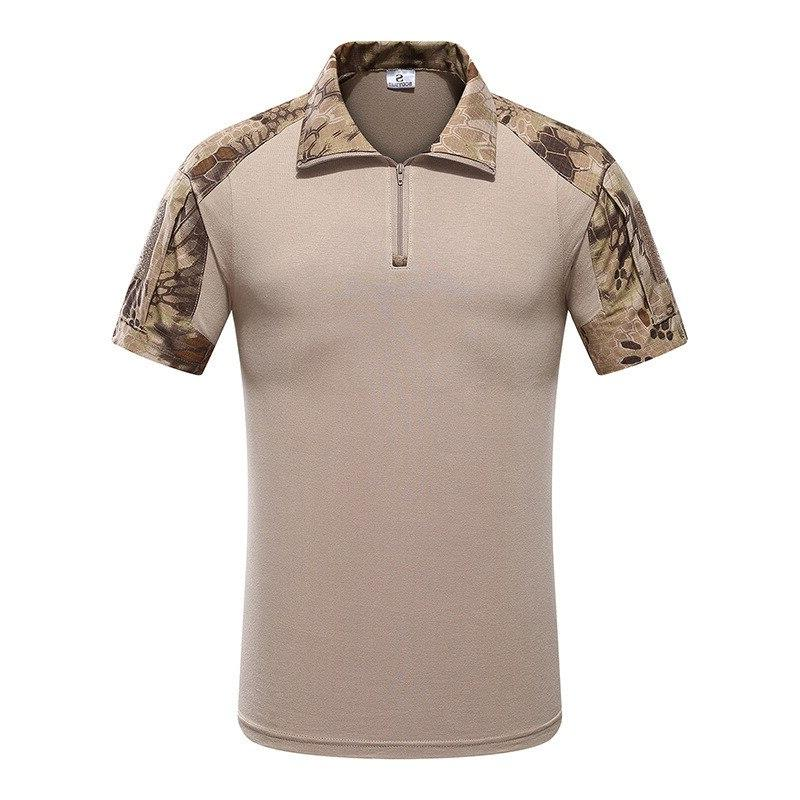 MEGE Tactical kryptek Uniform Top POLO, <font><b>Hunting</b></font> Airsoft Clothing Suit