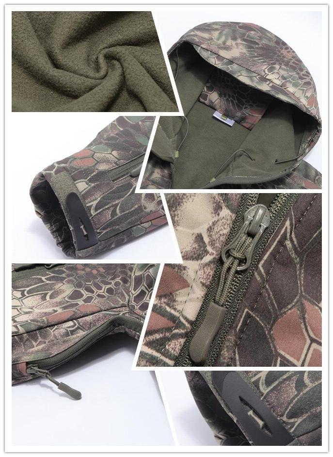 Men <font><b>Gear</b></font> Tactical Set Waterproof Clothes Coat Military Pants