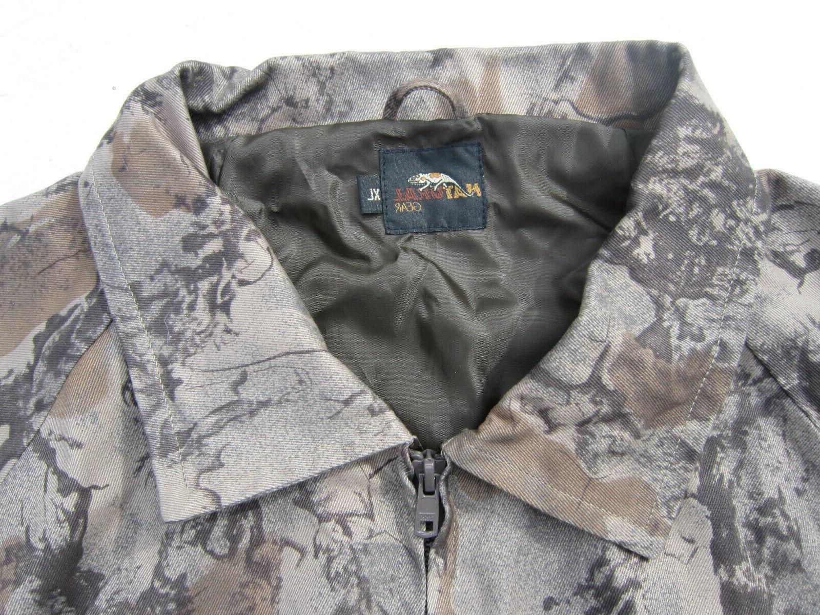 Camo Full Deer Jacket Windproof