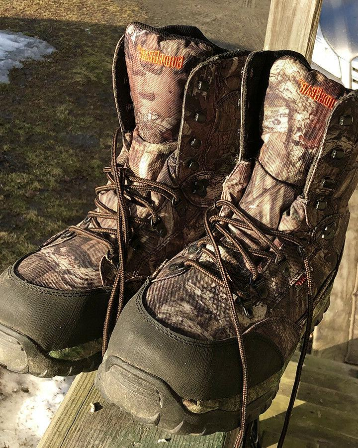 men s hunting boots 13ee waterproof 800