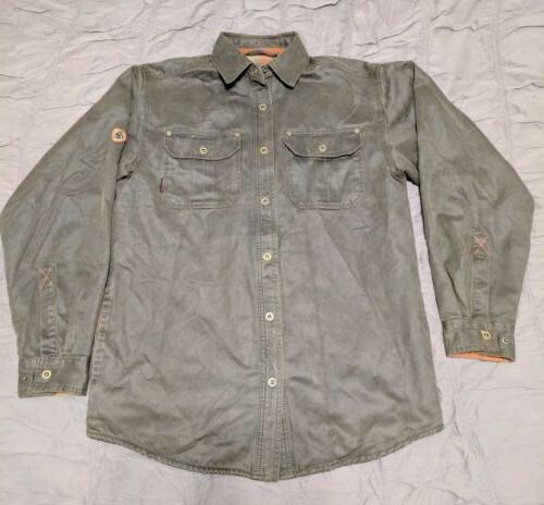 men s journeyman rugged shirt jacket hunting
