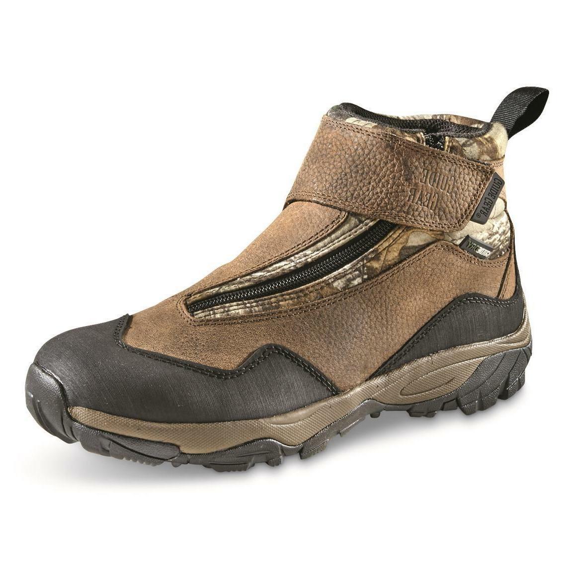 GUIDE GEAR Men's Silver Ridge Waterproof Zip Up Hunting Boot