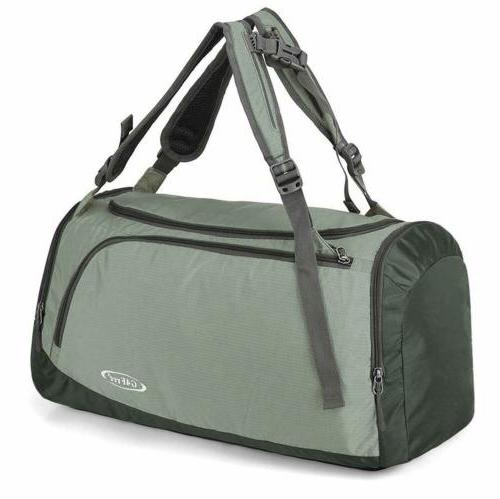 Men's Shoulder Carry Duffle Bag Sports Gym Camping Crossbody