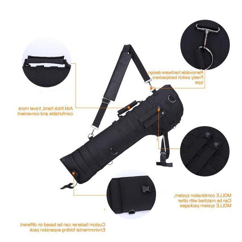 Men Outdoor Carbine Double Case Handbag <font><b>Hunting</b></font> <font><b>Gear</b></font>