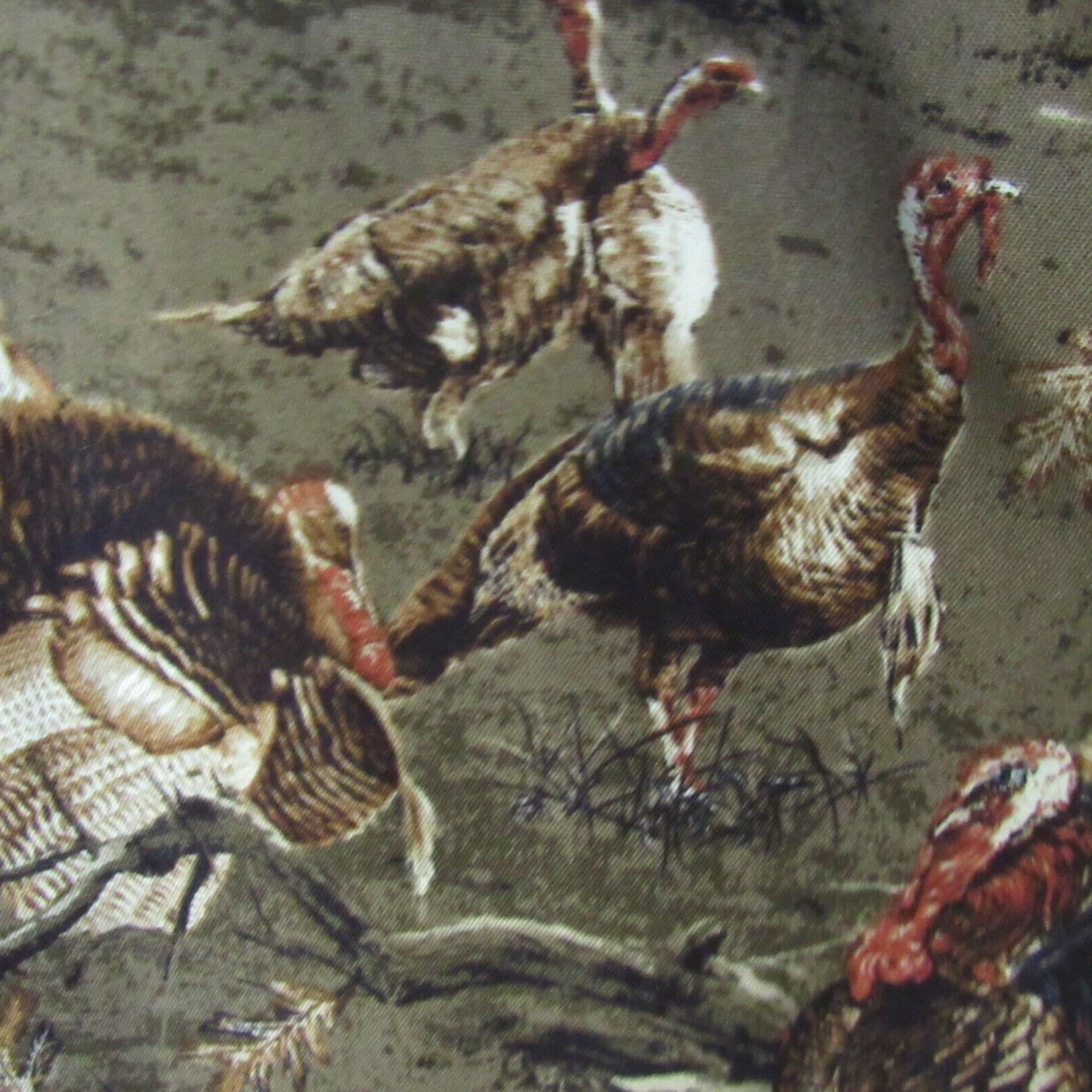 Mens 2XLT 2XL Turkey Whitetails Deer