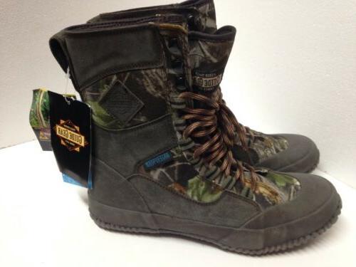 Guide Gear Leather Waterproof Boots Hardwoods Green