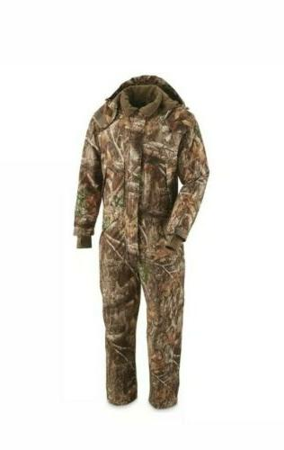 mens guide dry waterproof insulated hunting coveralls
