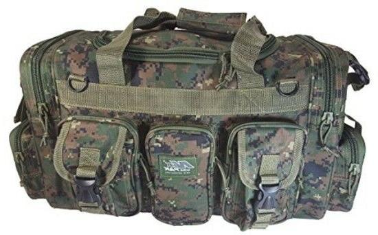 "Mens Large 22"" Duffel Military Molle Tactical Shoulder"