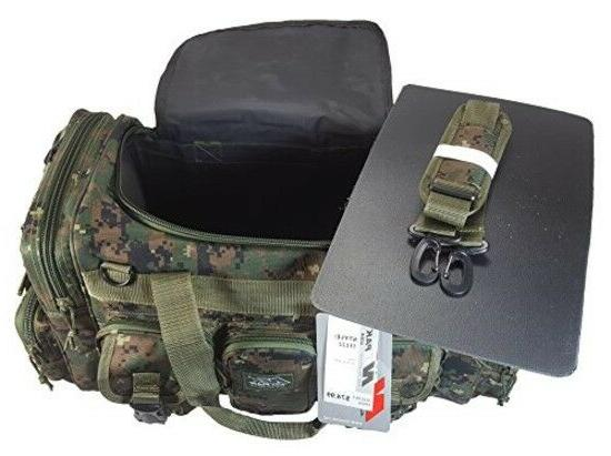 Military Molle Gear Shoulder Strap Travel Bag