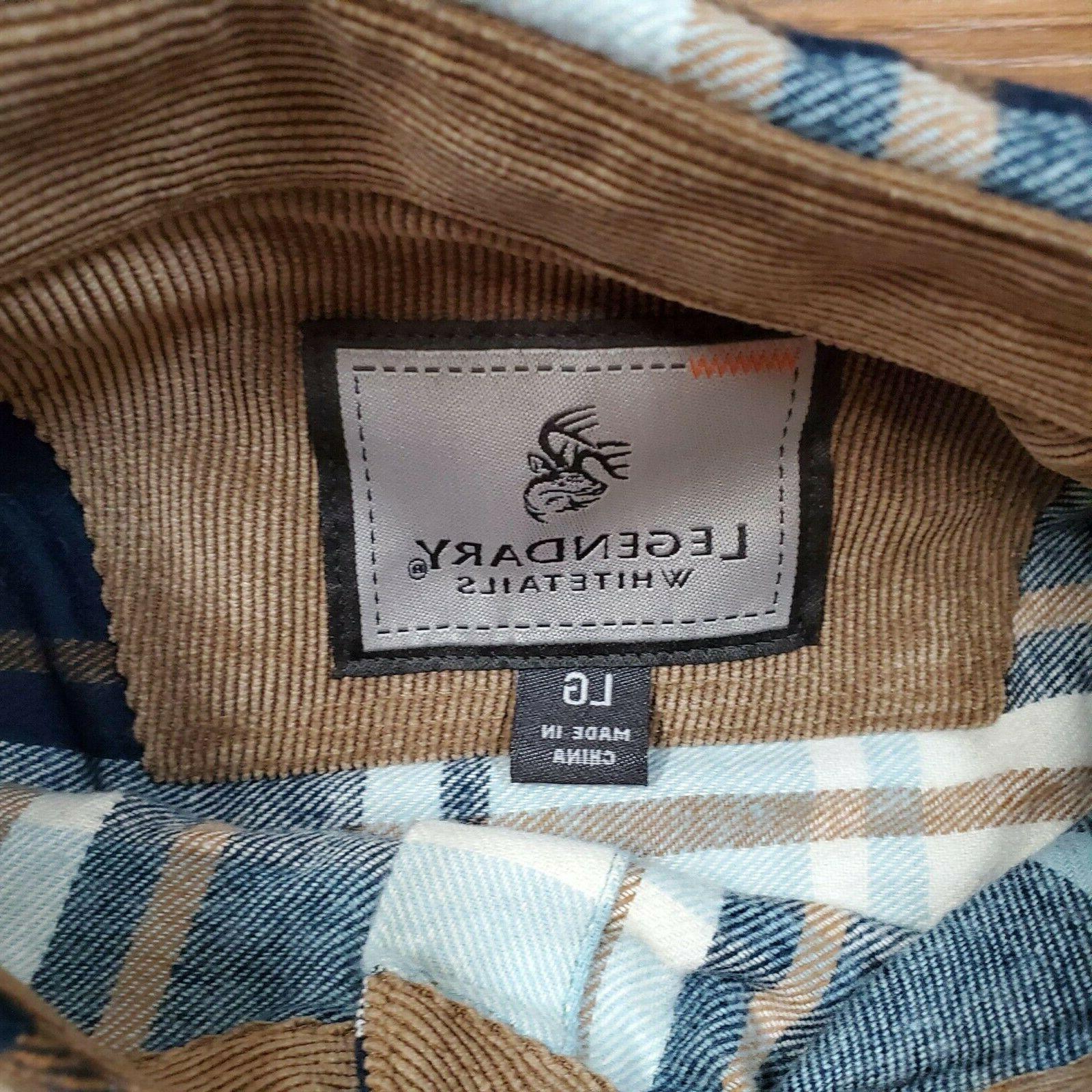 Legendary LARGE Buck Shirt Pacific