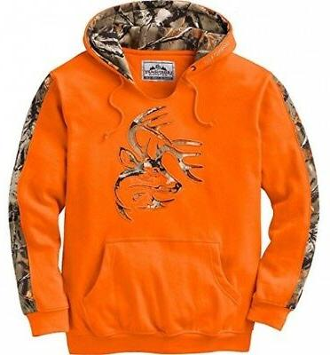 mens outfitter hoodie inferno large