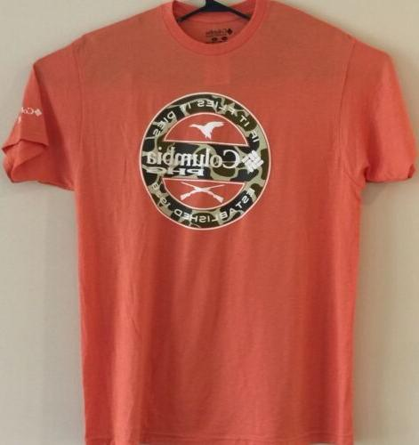 Mens Columbia Hunting Graphic T shirt Flies
