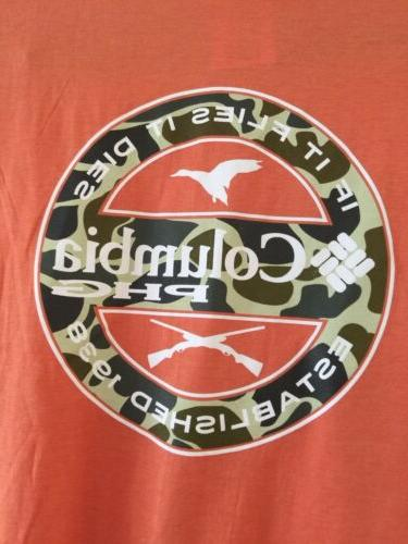 mens phg performance hunting gear graphic t