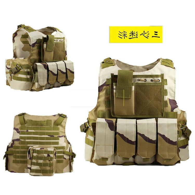 Mens Tactical Airsoft Plate Vest