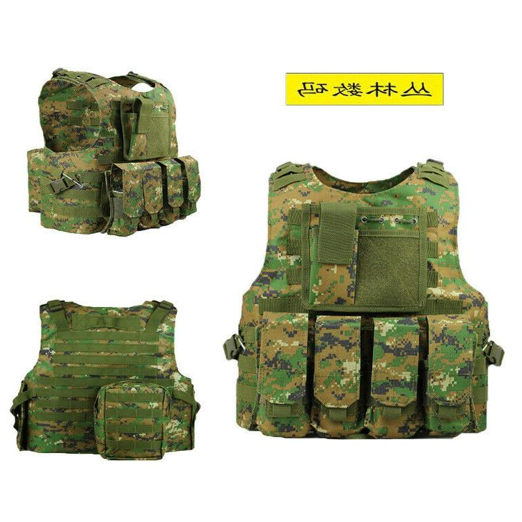 Airsoft Assault Plate Carrier Vest Gear