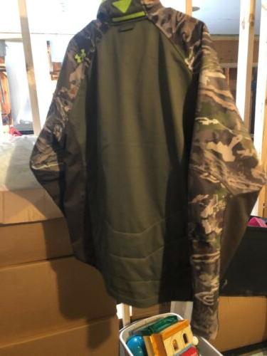Mens XL Under Armour Infrared Cold Camoflauge