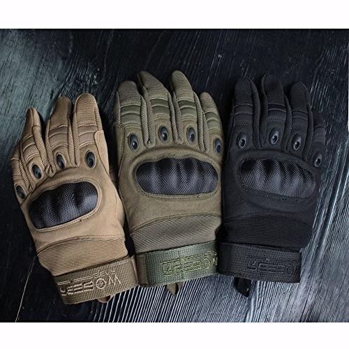 Reebow Gear Military Hard Knuckle Finger for Gear Outdoor Work Shooting Airsoft MotorcycleArmy