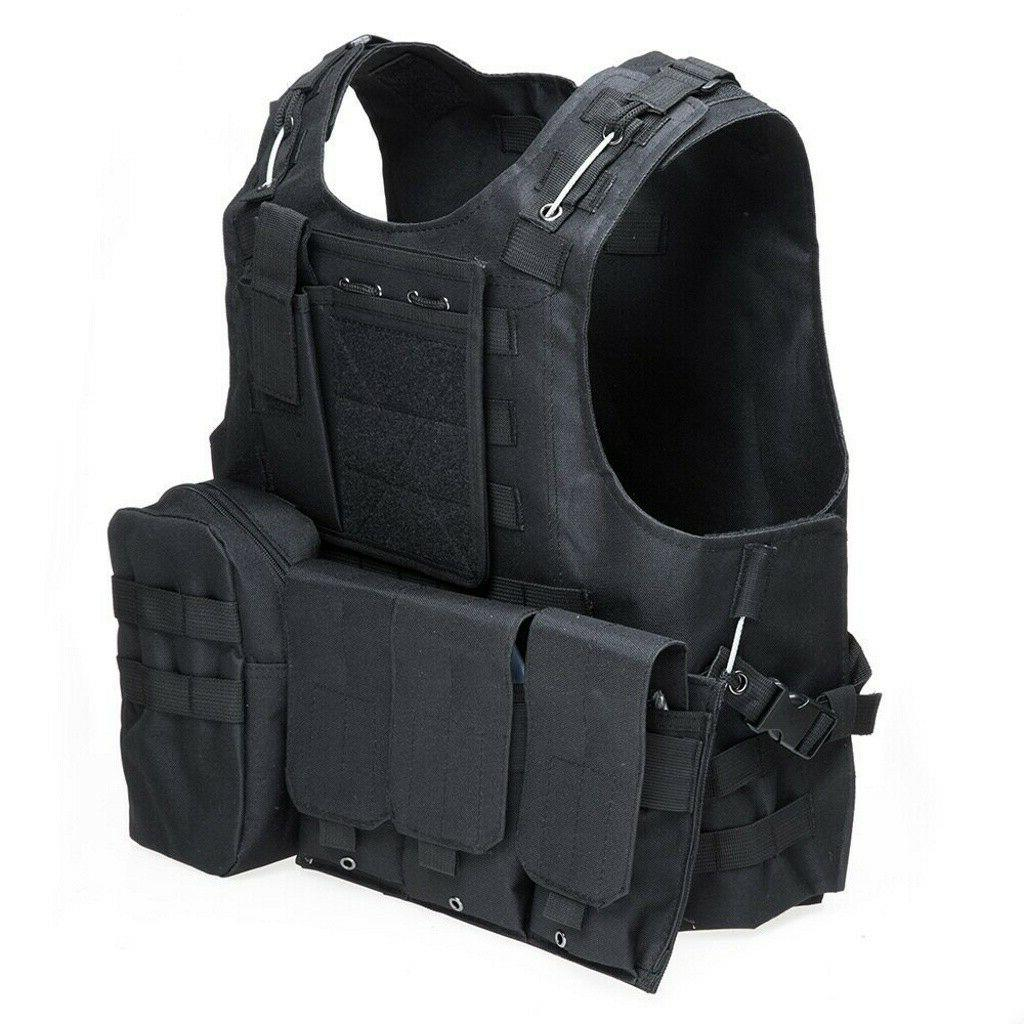 Military Carrier Holster Police Molle Assault Combat