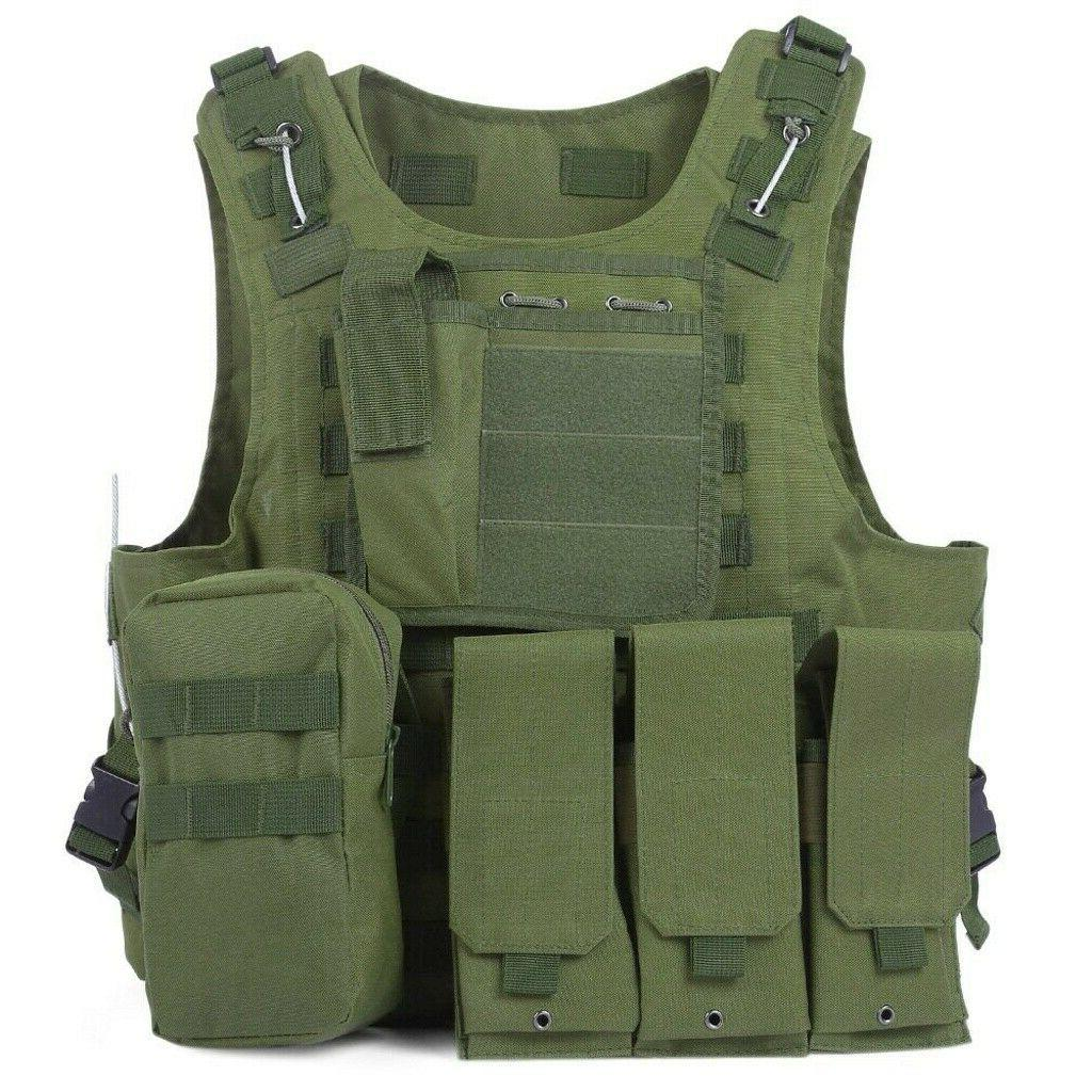 Military Vest Tactical Plate