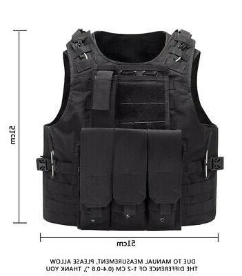 Military Vest Tactical Plate Carrier Assault