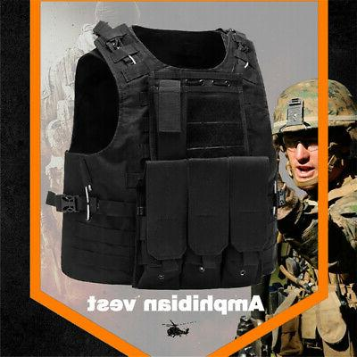 Military Tactical Plate Carrier Holster Police Assault