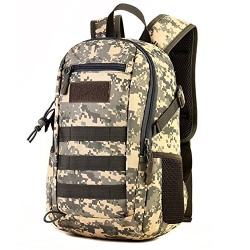 Huntvp 10L Military MOLLE Student Hunting Camping Trekking