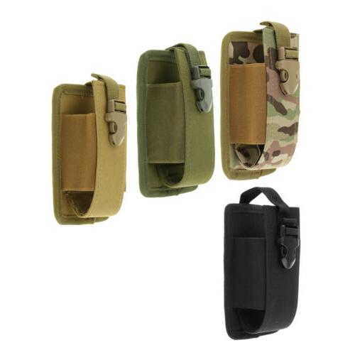 molle radio pouch walkie talkie holder holster