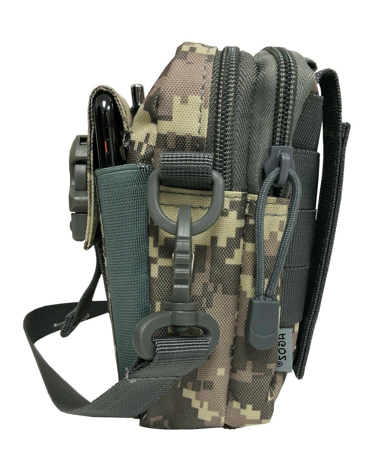MOLLE Tactical Pouch Utility Gear Outdoor Phone