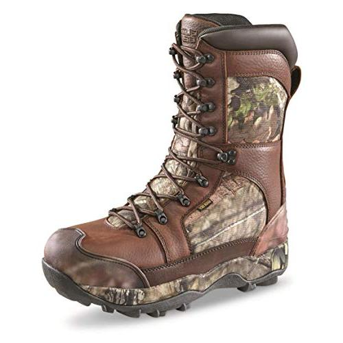 monolithic waterproof insulated hunting boots