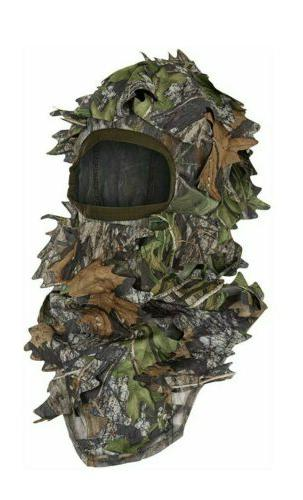 mossy oak leafy camo obsession green facemask