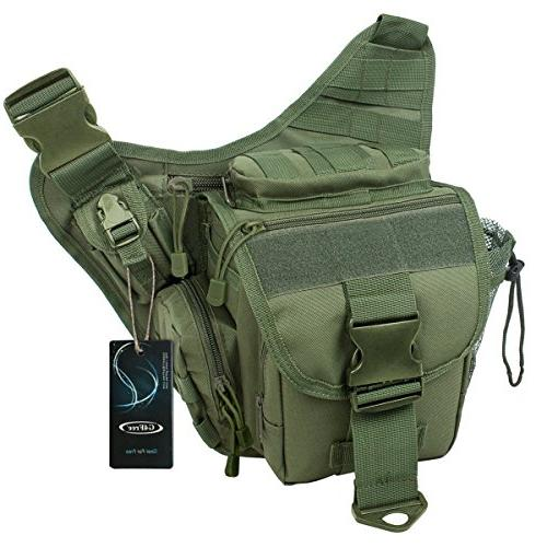 multi functional tactical messenger bag