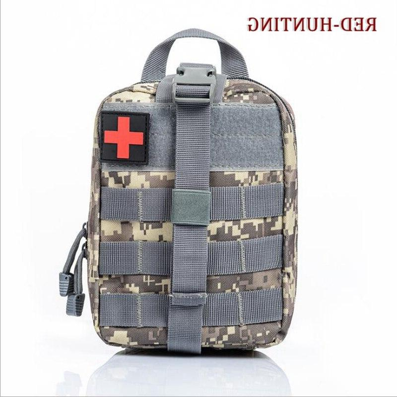 Multicam ACU Camouflage <font><b>Hunting</b></font> MOLLE Rip-Away Medical First Aid Blowout