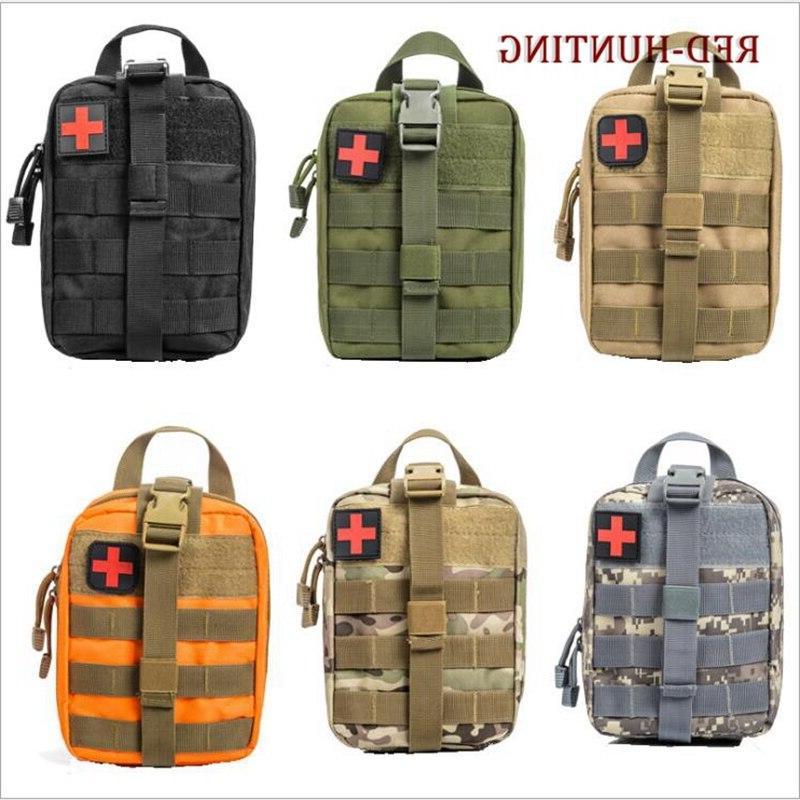 Multicam Camouflage <font><b>Hunting</b></font> <font><b>Gear</b></font> Rip-Away EMT Aid Pouch
