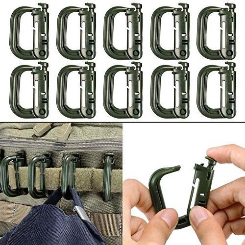multipurpose d ring grimloc locking