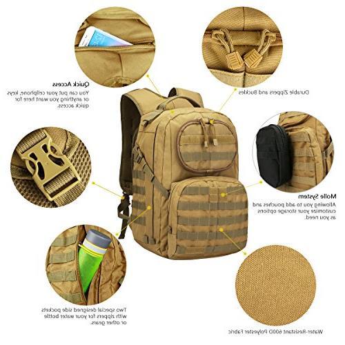 G4Free Multipurpose Tactical Large Camping Shoulder Pack 40L