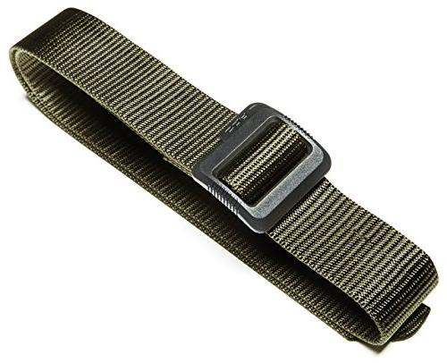 "CQR CQ-MZT01-GRN_XL 100% Full Nylon Webbing EDC Duty 1.5"" Belt"