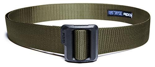 "CQR Tactical Belt 100% Nylon Webbing Duty 1.5"" Belt"
