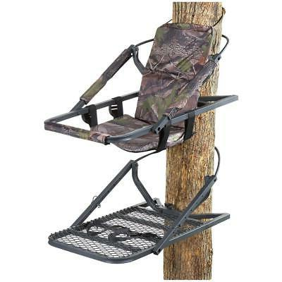 extreme deluxe climber tree padded armrest hunting