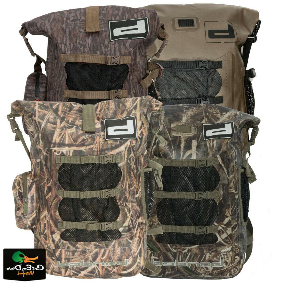 new gear arc welded back pack duck