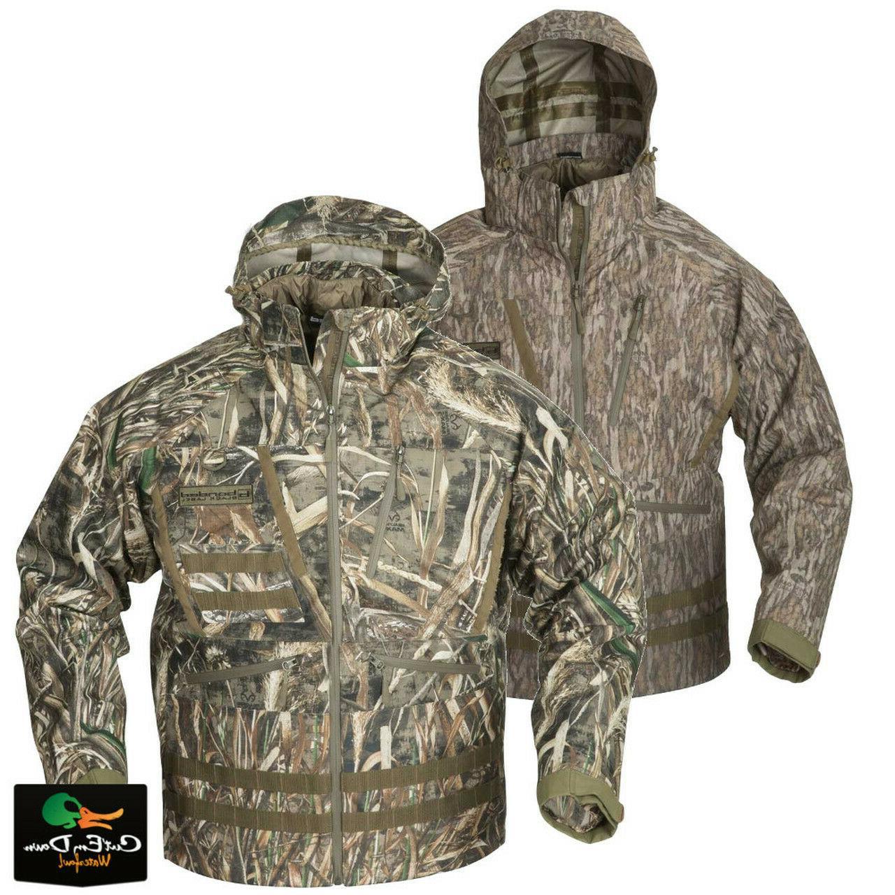 new gear black label wader jacket camo