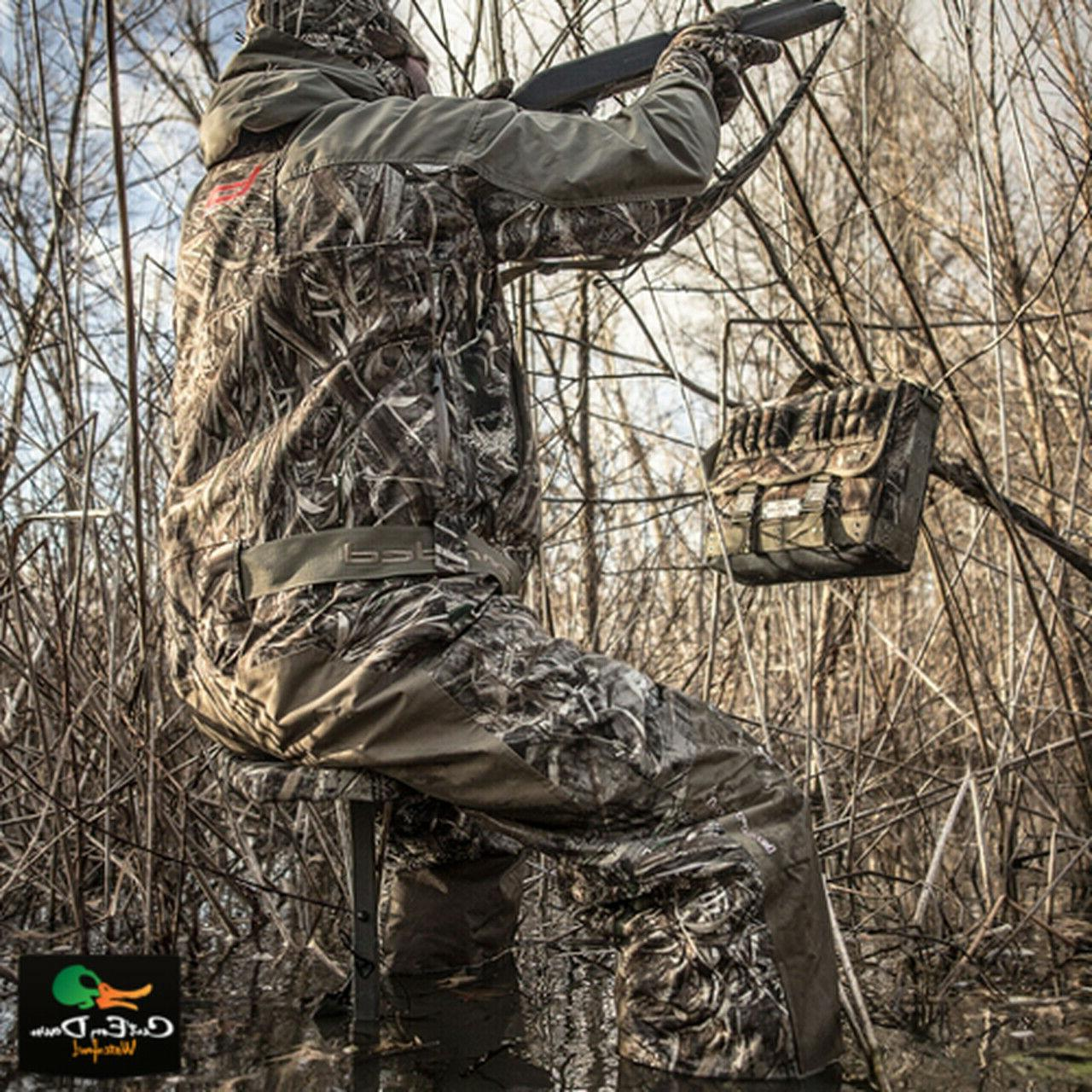 NEW GEAR DELUXE SLOUGH STOOL SWAMP CAMO