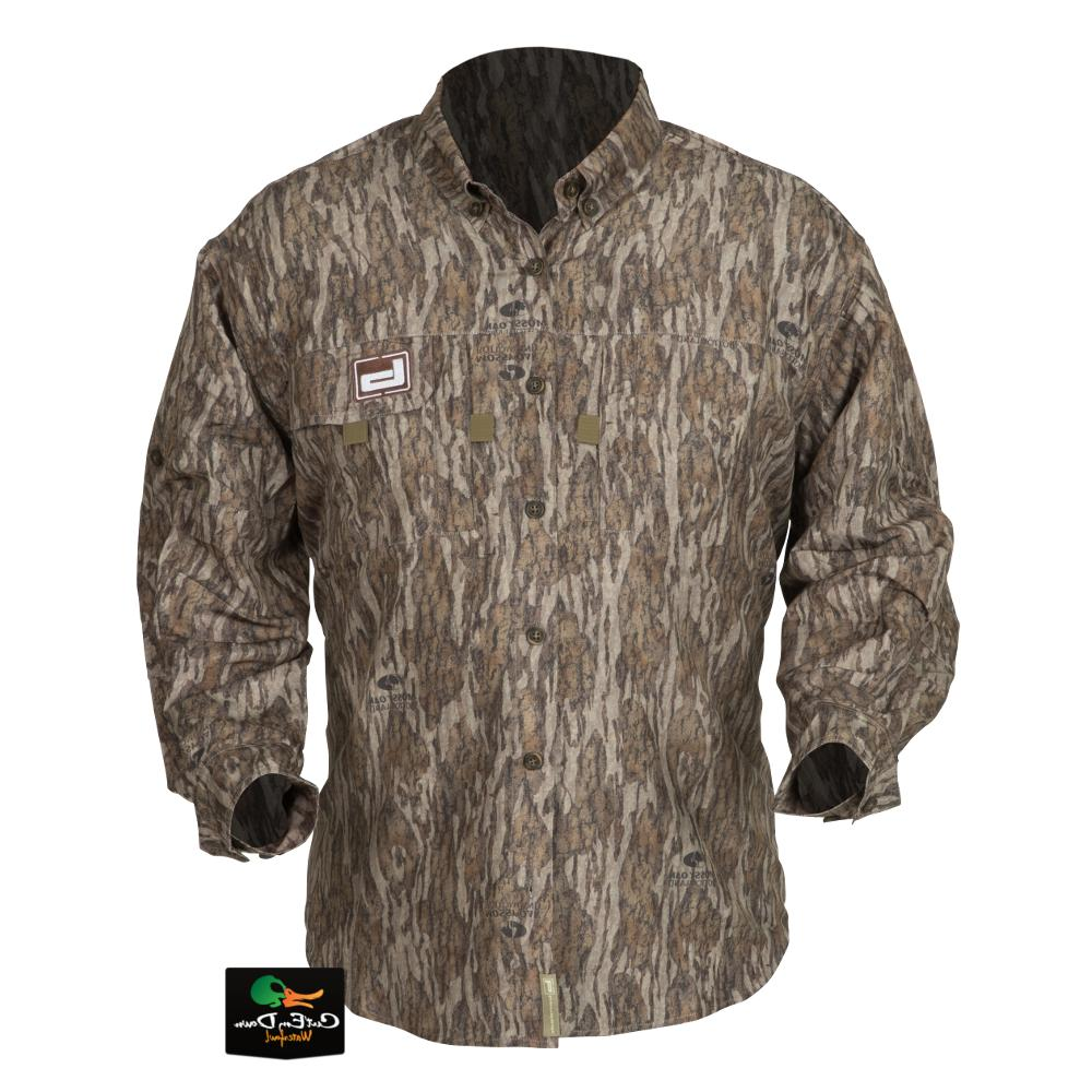 new gear lightweight hunting shirt bottomland camo